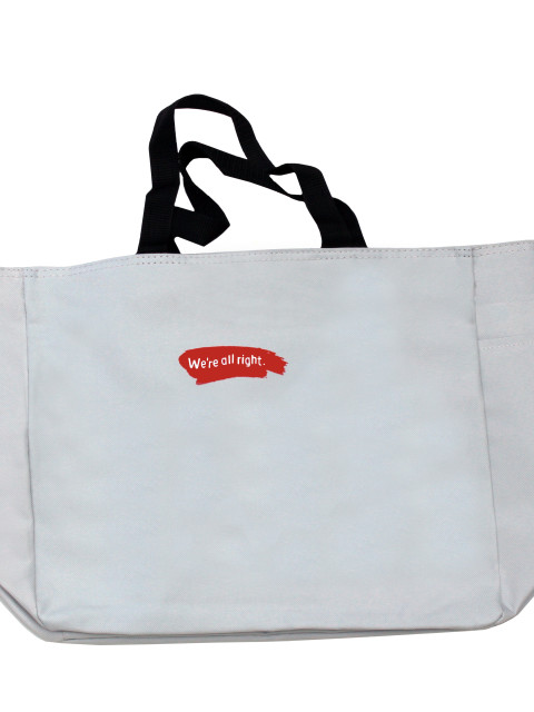 WAR tote front